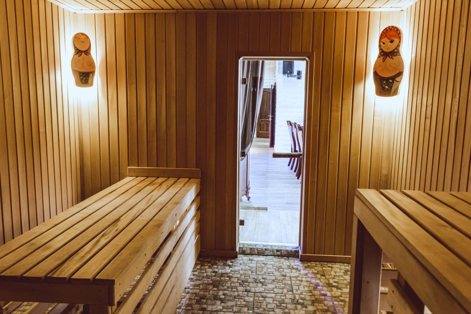 Правила поведения в русской бане на дровах